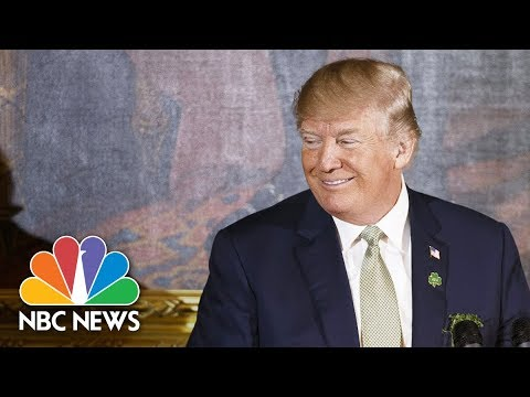 President Trump Speaks At The Shamrock Bowl Presentation By Prime Minister Varadkar | NBC News
