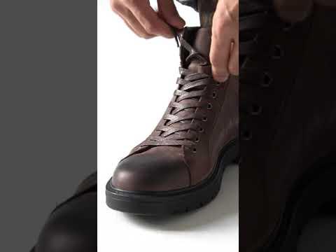 Мужские ботинки BASARAB из нубука