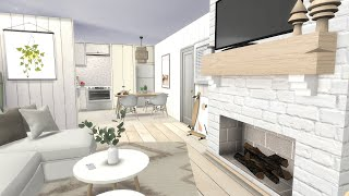 SCANDINAVIAN INSPIRED APARTMENT | The Sims 4 | CC SPEED BUILD + LINKS