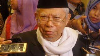 Ma'ruf Amin: Kami Didukung Banyak Ulama Besar