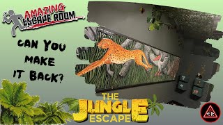 """An ETR EXCLUSIVE first look at AMAZING ESCAPE ROOM's room - """"THE JUNGLE ESCAPE""""!!"""