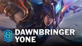 Dawnbringer Yone Skin Spotlight - League of Legends