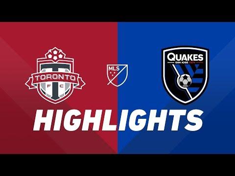 Toronto FC vs. San Jose Earthquakes   HIGHLIGHTS - May 26, 2019
