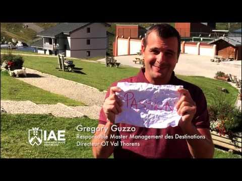 Bienvenue à tous les étudiants en Tourisme, Hôtellerie, Evénementiel de l'IAE Savoie Mont Blanc !