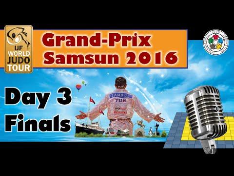 Judo Grand-Prix Samsun 2016: Day 3 - Final Block