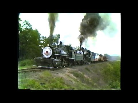 1982 Conway Scenic Railfan Day. Steam and Diesel!   North Conway,NH  Part 2
