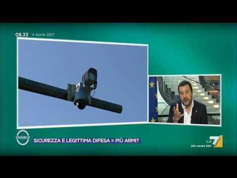 Sicurezza, Salvini (Lega): Legittima difesa sempre e comunque