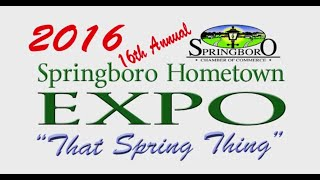 2016 Springboro Hometown Expo
