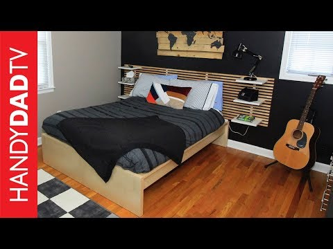 Boy's Bedroom Makeover