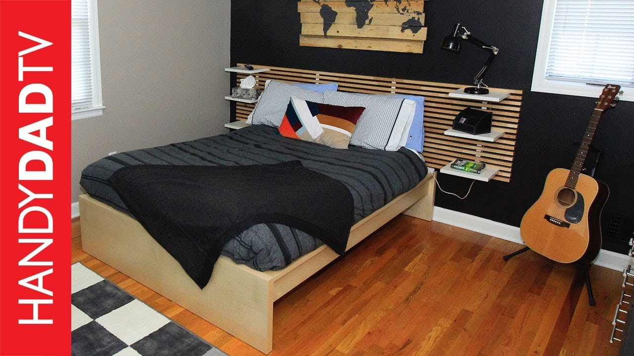 Boy\'s Bedroom Makeover