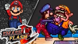 WARIO PARTY!! (EVENTOS SMASH) | Super Smash Flash 2 | Ep 6 con -- ALEX --