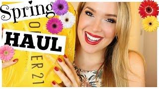 Forever 21 Spring Clothing Haul! | MissJenFABULOUS
