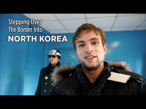 Stepping Over The Border Into North Korea: The Demilitarized Zone (DMZ)