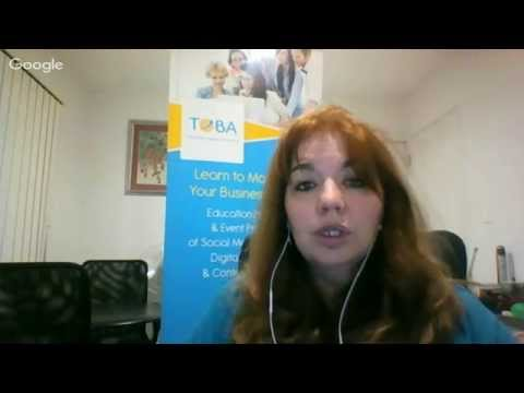 Andrew Baird interviewing Wanita Fourie about Social Media and growing your tribe