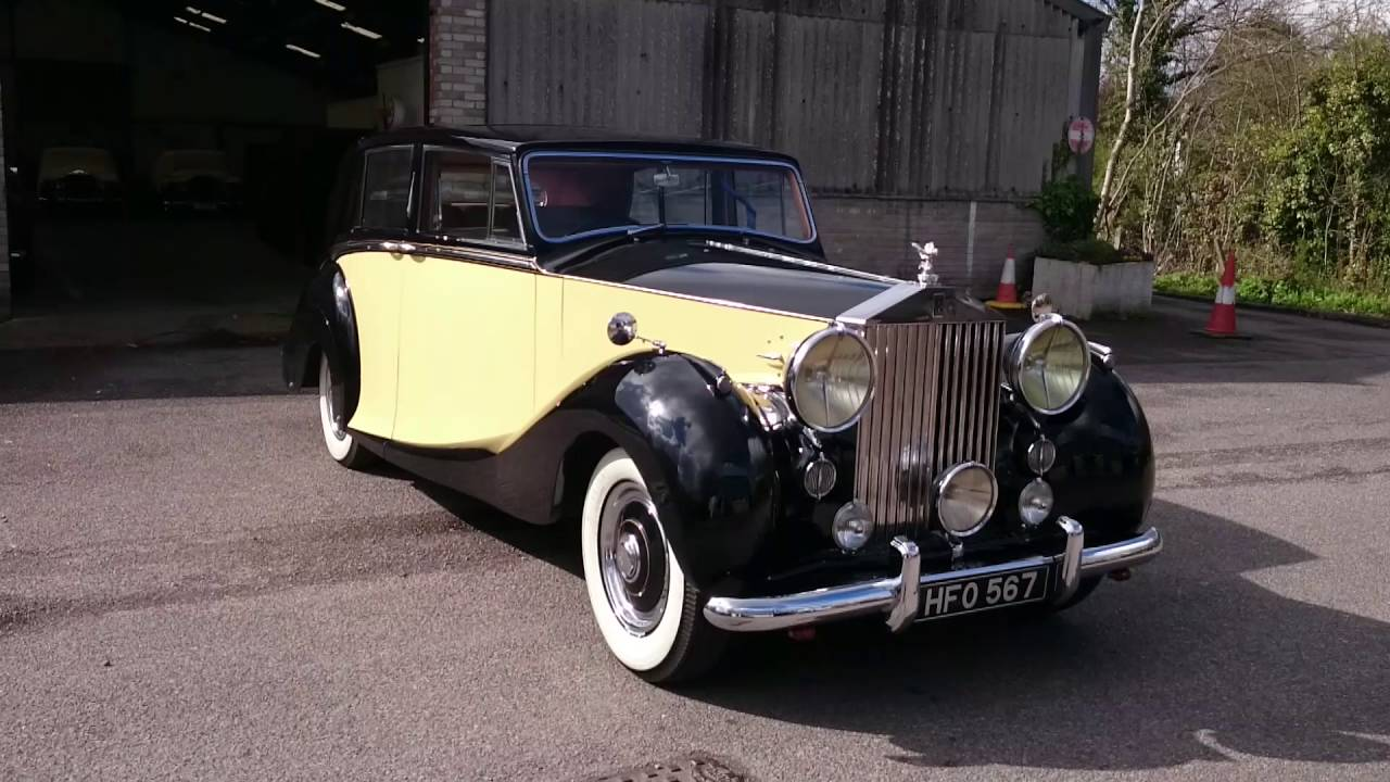 1950 Rolls Royce Silver Wraith - YouTube