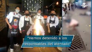 """""""Les anuncio que hemos detenido a los responsables de este atentado en Salamanca, me informó el fiscal"""", dijo el gobernador"""
