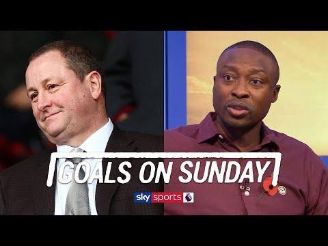 Shola Ameobi thinks Newcastle need to spend money to avoid relegation | Goals on Sunday