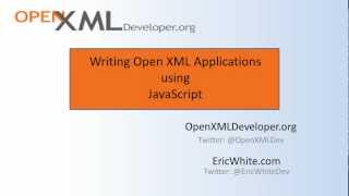 JavaScriptOpenXmlPOC