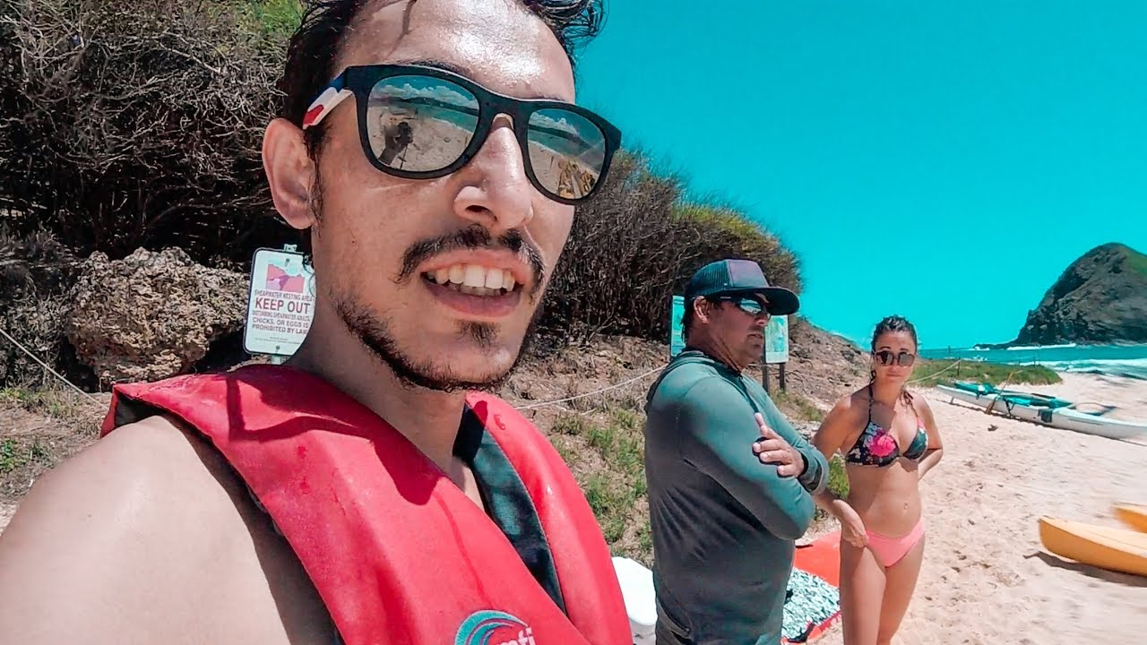 Muhteşem Hawaii Sahillerinde Bir Gün - Kamp Yapmak
