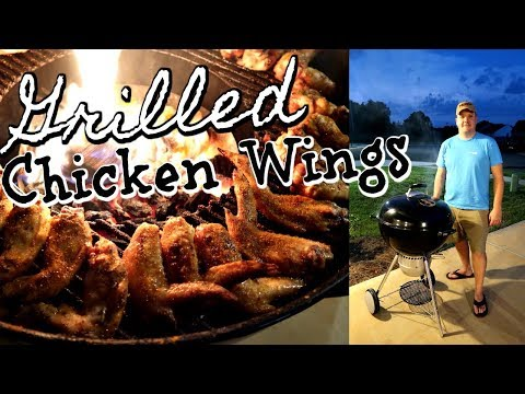THE BEST GRILLED WINGS | HOW TO GRILL CHICKEN WINGS PERFECTLY EVERY TIME | Cook Clean And Repeat
