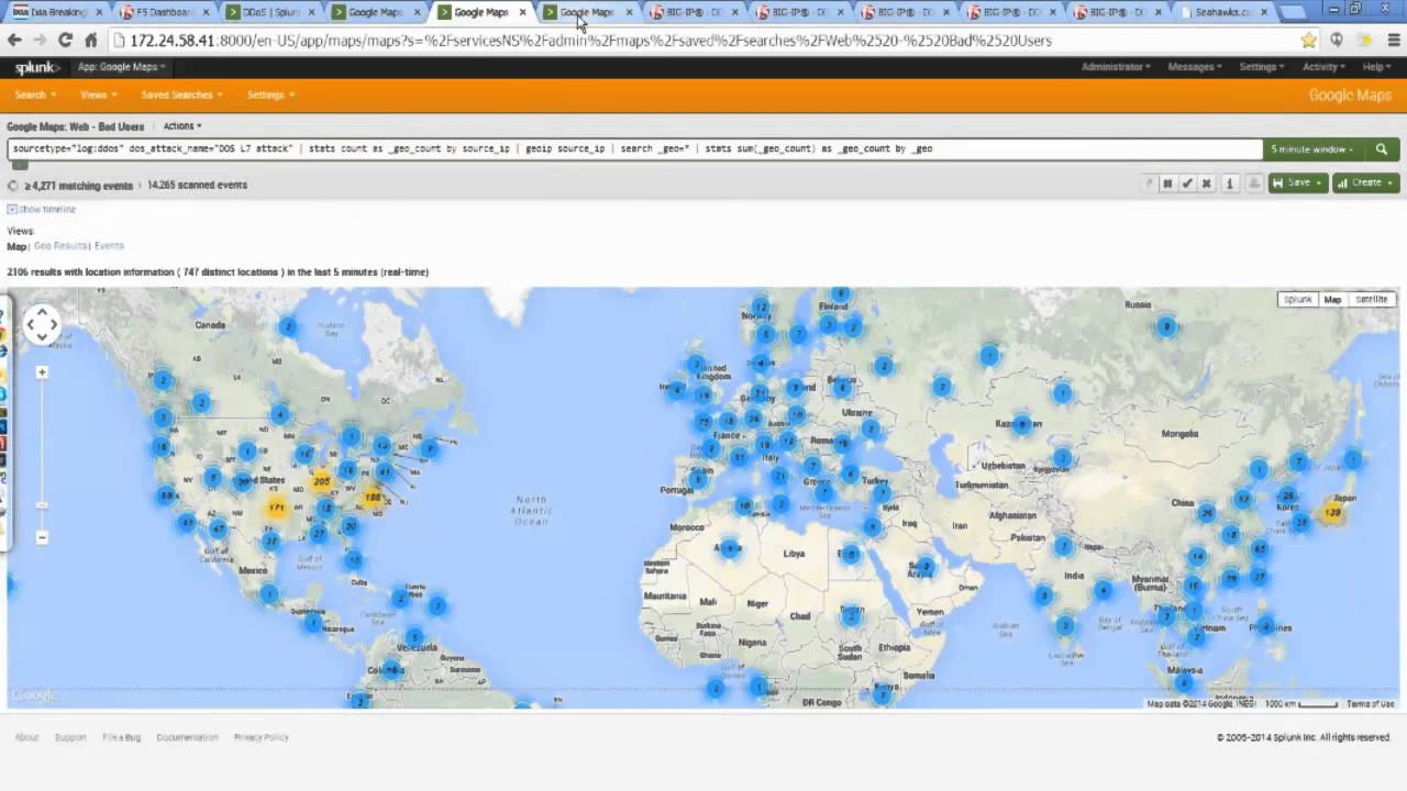 RSA 2014 Demo - Surviving a 300 Gbit Multi Layer DDoS Attack