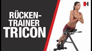 Rückentrainer Tricon | FINNLO by HAMMER