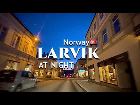 Norway 🇳🇴 Larvik at night