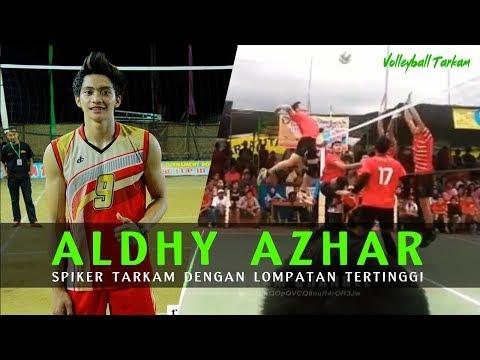 Woww Mantap !!! Aldhy Azhar Spiker Tarkam Dengan Lompatan Tertinggi Se Indonesia