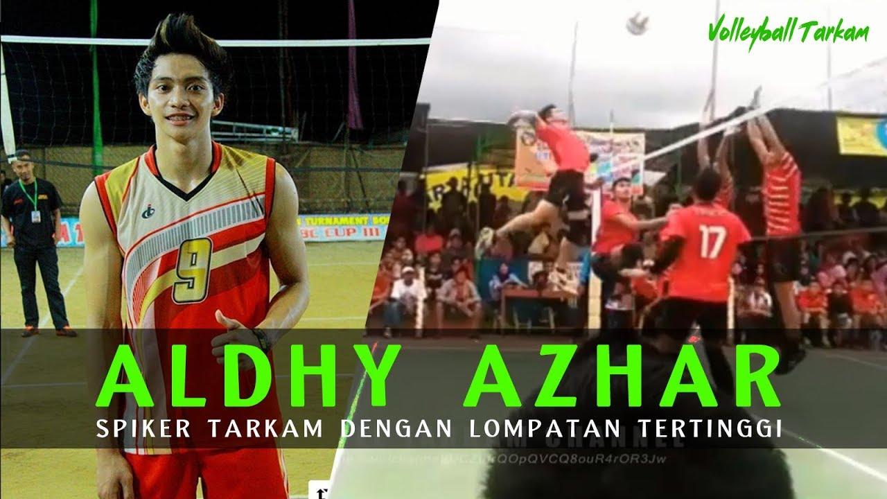 Woww Mantap Aldhy Azhar Spiker Tarkam Dengan Lompatan Tertinggi Se Indonesia