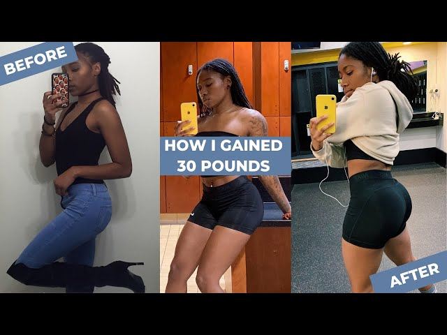 MY FITNESS JOURNEY   HOW I GAINED 30 LBS IN A YEAR
