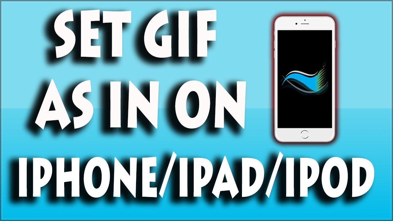 How To Set Gif As Wallpaper On Iphone Ipad Ipod Gifpaper Youtube