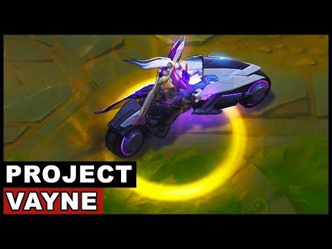 PROJECT Vayne Legendary Skin Spotlight (League of Legends)