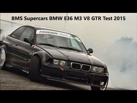 LS swap everything says Brandy with his Drift BMW E36 M3 V8 GTR