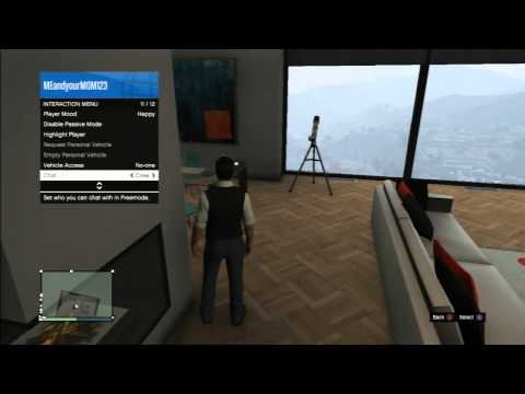 GTA V - How To Mute People Online