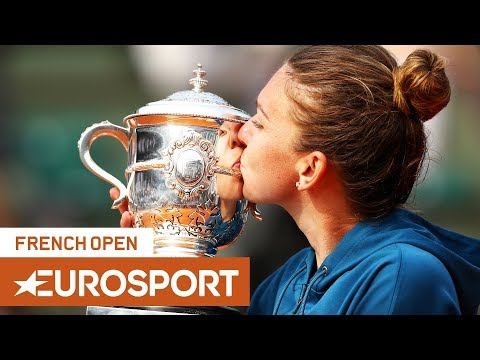 French Open 2018 | Halep Wins Her Maiden Grand Slam Title! | Day 14 | Eurosport