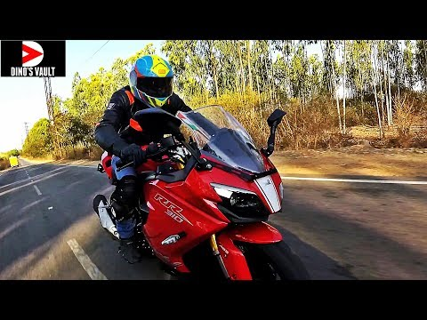 Apache RR 310 First Ride Review Most Detailed Pros Cons #Bikes@Dinos