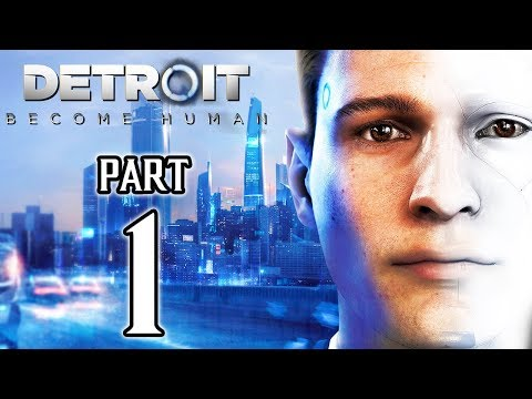DETROIT BECOME HUMAN Walkthrough PART 1 (PS4 Pro) No Commentary Gameplay @ 1080p HD ✔