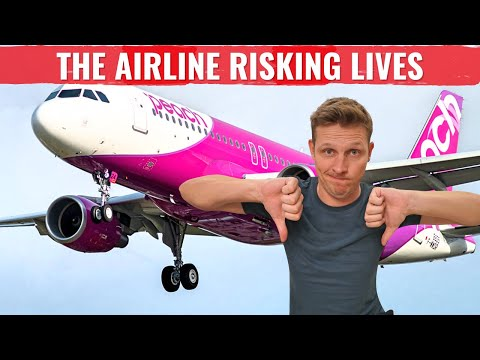 Review: JAPAN's PEACH AIR - THE AIRLINE THAT RISKS PASSENGERS LIVES!
