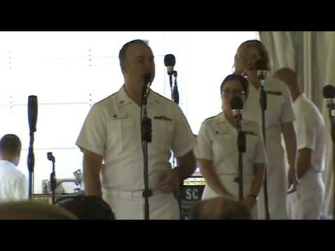 "The United States Navy ""Sea Chanters"" 6-17-2017 Workhouse Arts Center Lorton, VA. FULL SHOW"