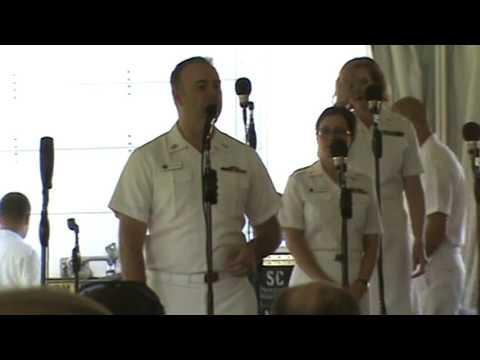 "The United States Navy ""Sea Chanters"" 6-17-2017 Workhouse Arts Center Lorton, VA. FULL SHOW"