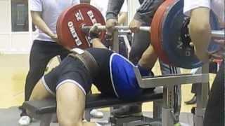 Дима Ли жим лежа, Кубок РК 1й подход 270 кг