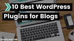 10 Best WordPress Blogging Plugins