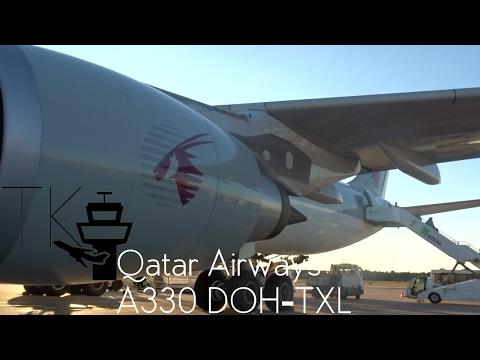 TRIP REPORT | Qatar Airways Airbus A330-300 | Doha - Berlin Tegel QR077