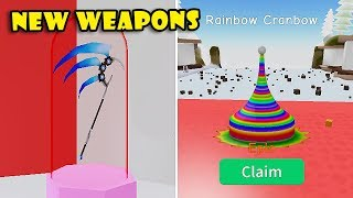 NEUES CARNIVAL AREA UPDATE! NEUE WEAPONS SHOP In UNBOXING SIMULATOR! [Roblox]