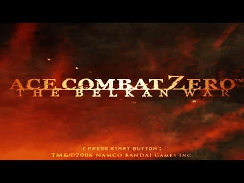 Ace Combat Zero: The Belkan War (Emulated) - M01: Glacial Skies