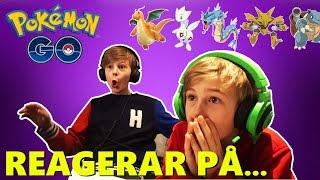 Pokemon Go | REAGERAR på era BÄSTA POKEMONS!!