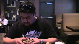 Aria Skybox Firecracker Burger Challenge
