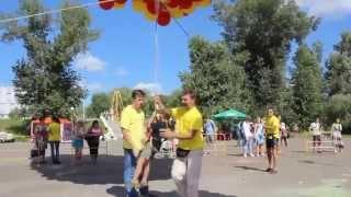 Шоу воздушных шаров в Омске