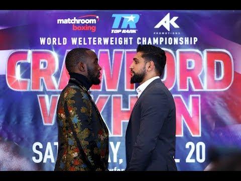 Crawford vs Khan London Press Conference | FULL (1/15/19)