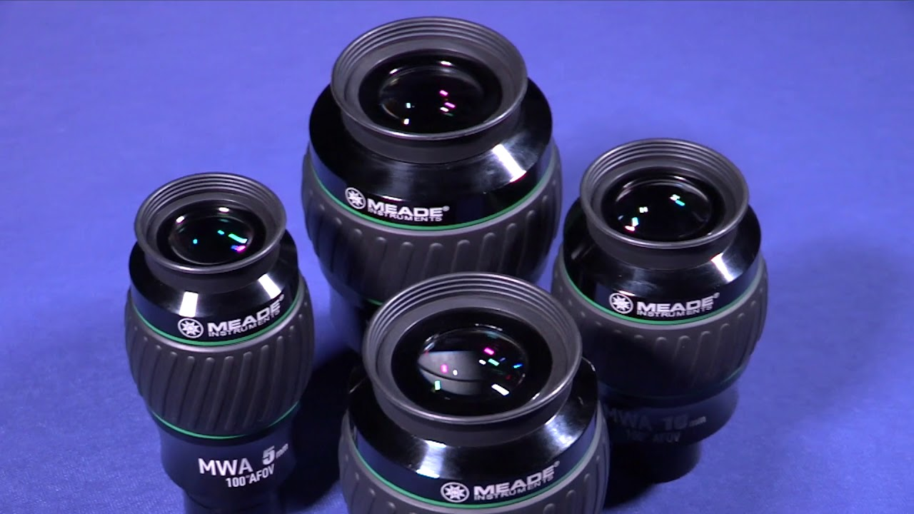 Meade instruments eyepieces youtube